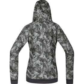 GORE WEAR C5 Trail Camo Winterstopper Hooded Jacket Women terra grey camo